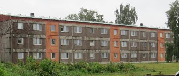 Norrliden fasad hyreshus