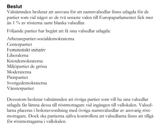 Valnämnden Kalmar kommun