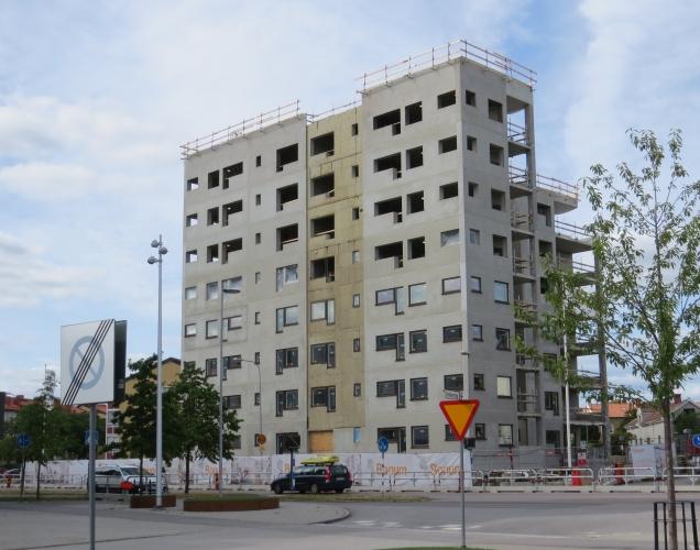 Nya bostäder ErikDahbergsväg
