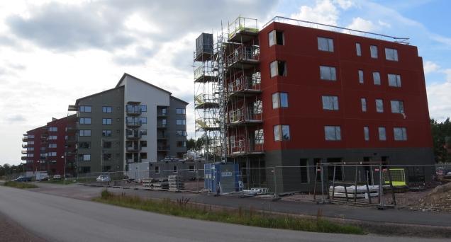 Nya bostäder Snurrom 1