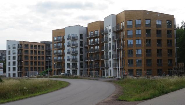 Nya bostäder Snurrom Rikshem
