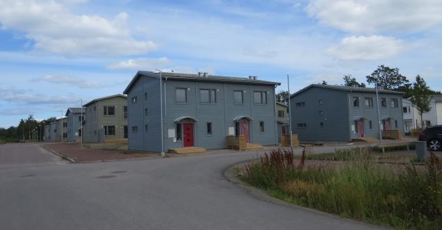 Nya bostäder Vimpeltorpet radhus