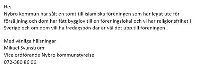 Moske mejl vice KSO Svanström
