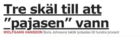 Aftonbladet pajas