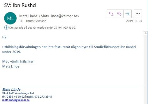 Mats Linde mejl 1