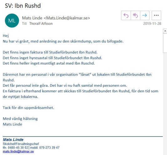 Mats Linde mejl 3