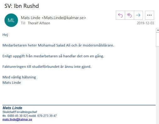 Mats Linde mejl 4