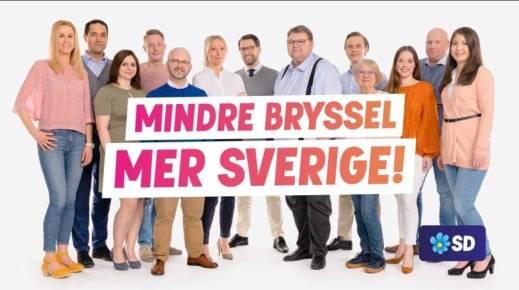 Mindre Bryssel Mer Sverige