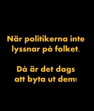 T-shirt svt svart gul text rygg 1